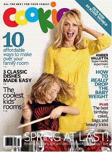 Amber Valletta Tossed the Television to Inspire Her Son