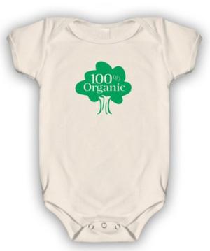 Go Green: 100% Organic Onesie