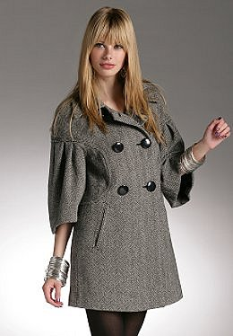 Justsweet by JLo: Aline Herringbone Coat