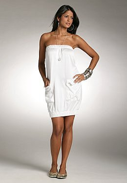 Justsweet by JLo: Shirred Tube Dress