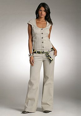 Justsweet by JLo: Jumpsuit W/ Printed Belt