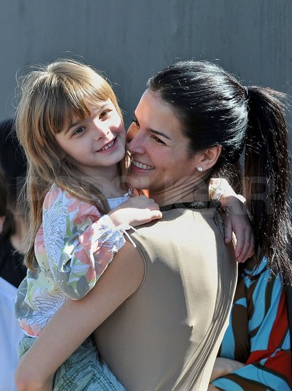 Angie Harmon and her daughter Finley also attended the John Varvatos 6th Annual Stuart House Benefit.