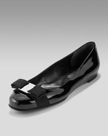 Salvatore Ferragamo famous flat shoes