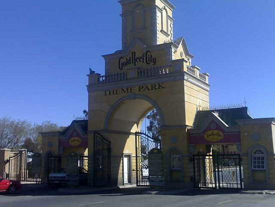 Gold reef City entrance