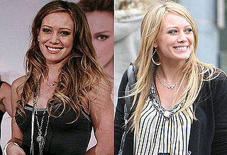 Hilary Duff's new hair color