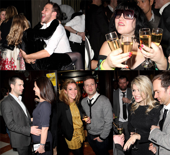 Celebrities Have Fun at Brits Sony BMG After Show Party