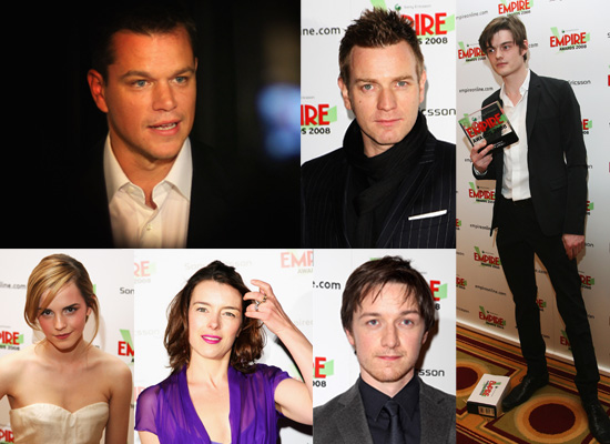 Rundown Of The Winners And Guests At The 2008 Empire Film Awards
