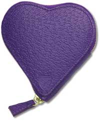 Simply Fab: Aspinal Heart Shaped Purse
