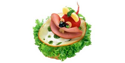 Funny Sandwiches for Kids or Adults :)
