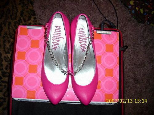 Punkrose Pink Heels
