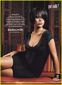 Rihanna: Got Milk?