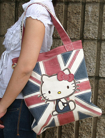 Hello Kitty UK Style Vegan Tote