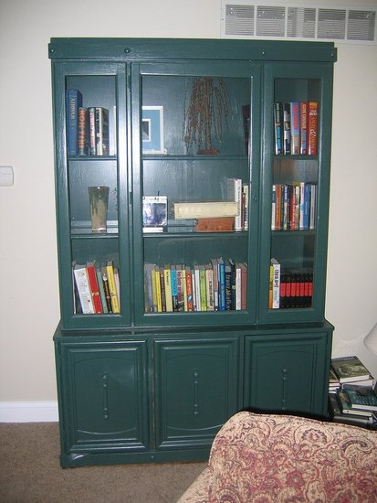 Room Therapy: Renovating a Bookcase