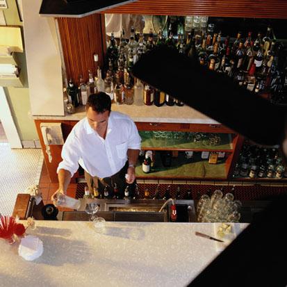 Turn On or Turn Off: Bartenders