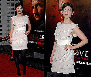 Ginnifer Goodwin Attends Big Love Season Three Premiere in Ruffle Chloe Dress