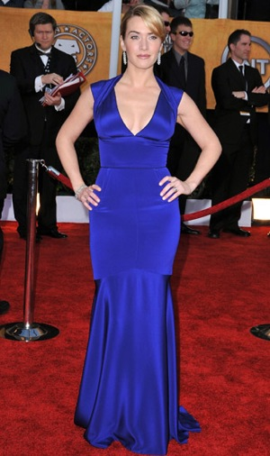 Screen Actors Guild Awards Trend Alert: Blue School