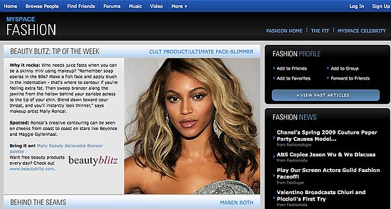 On Our Radar: MySpace Fashion Rolls Out New Features