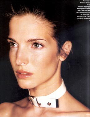 Stephanie Seymour Brant, Contributing Fashion Editor