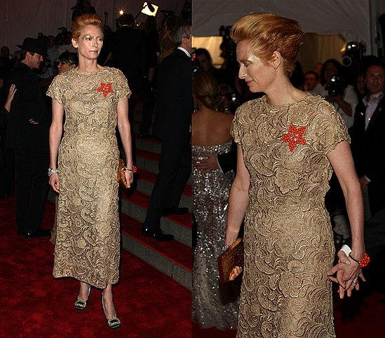 The Met's Costume Institute Gala: Tilda Swinton
