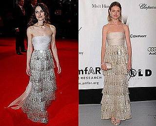 Who Wore It Better? Beaded, Tiered Valentino Dress