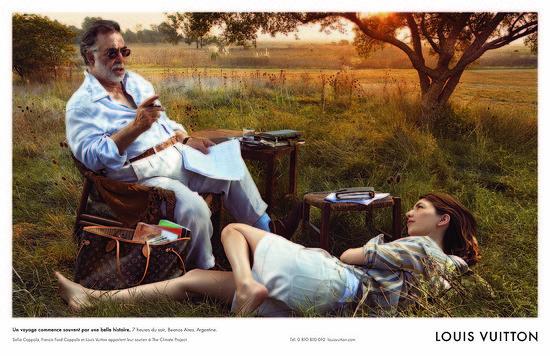 Fab Ad: Louis Vuitton Core Values Campaign Featuring Francis and Sofia Coppola