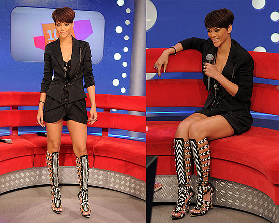 Rihanna's Balenciaga Gladiator Boots: Love It or Hate It?