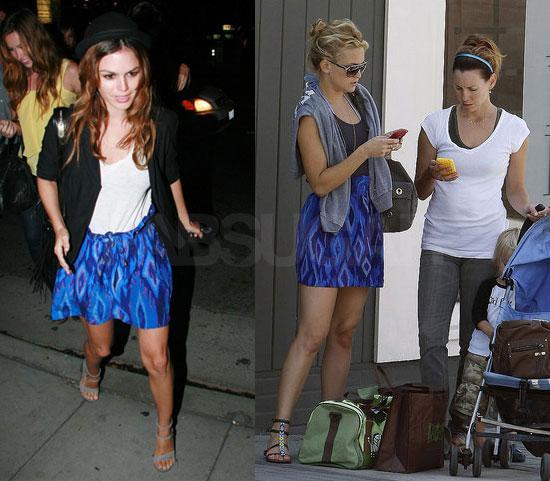 Who Wore It Better? Ikat Myne Skirt