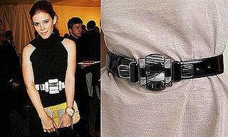 Fab Finger Discount: Fendi Look-Alike Geometric Buckle Belt