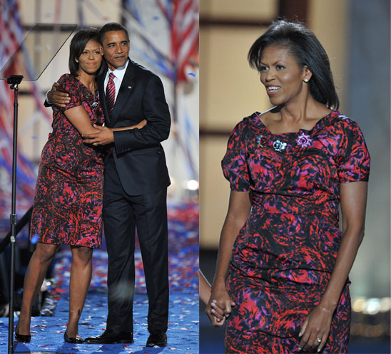 Michelle Obama at the Democratic National Convention Wearing Thakoon