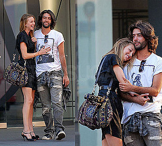 Whitney Port With New Boyfriend in Front of Diane von Furstenberg Store in New York