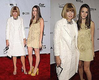 2008 Fashion Rocks: Anna Wintour & Bee Schaffer
