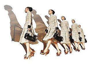 Sneak Peek! Prada's Fall/Winter Lookbook