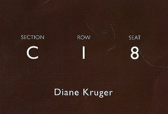 Diane Kruger Attends Tommy Hilfiger's Fashion Show at New York Fashion Week