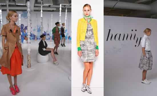 New York Fashion Week, Spring 2009: Hanii Y, Sleepwalker