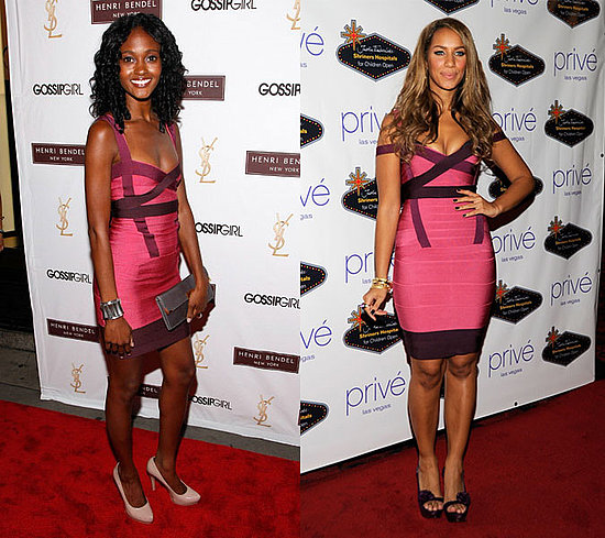 Who Wore It Better? Herve Leger Accent Bandage Dress