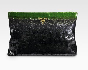 The Bag To Have: Prada Paillettes Clutch