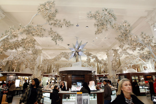 Behind the Seams: Saks Snowflake Spectacular