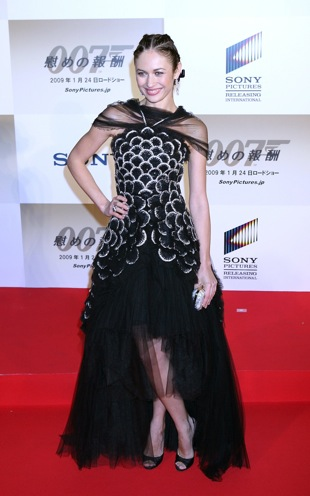 Olga Kurylenko in Scaly Chanel Couture: Love It or Hate It?