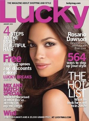 Win Rosario Dawson's Lucky Cover Look!