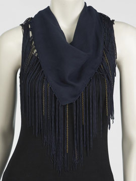 Fab Finger Discount: Arden B. Chain Fringe Scarf