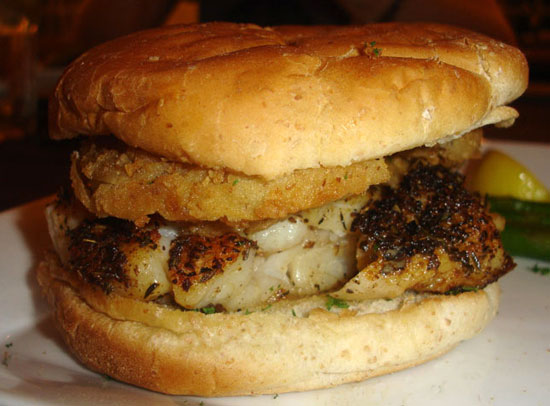 'Wich of the Week: Grilled Grouper With Fried Green Tomatoes