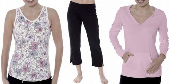 Danskin Yoga Gear Goes Organic