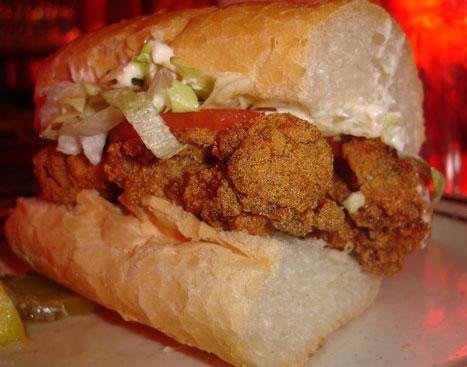 'Wich of the Week: Fried Oyster Po'boy