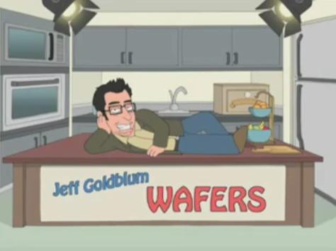 Jeff Goldblum's Very Wise Crackers