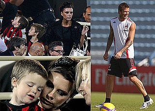 Photos of David and Victoria Beckham With Their Sons in Dubai