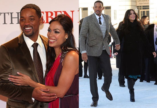 Photos of Will Smith and Rosario Dawson at the Berlin Premiere of Seven Pounds