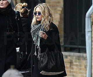 Photo of Mary-Kate Olsen and Ashley Olsen Leaving NYC's Soho House