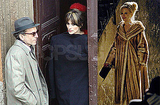 Photos of Penelope Cruz, Daniel Day-Lewis and Nicole Kidman on the Rome set of Nine