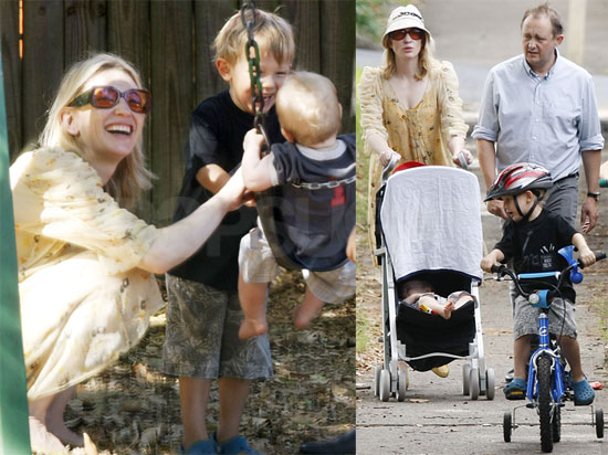 Photos of Cate Blanchett Out in Sydney With Her Husband and Three Sons