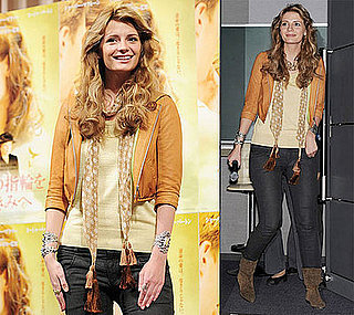 Mischa Barton At A Press Conference For Closing The Ring In Tokyo